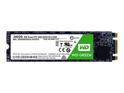 WD Green PC SSD WDS240G2G0B - Solid-State-Disk - 240 GB - intern - M.2 2280 - SATA 6Gb/s
