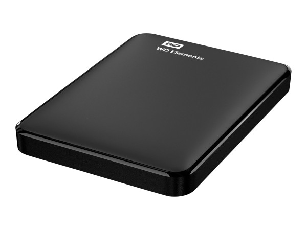WD Elements Portable WDBUZG0010BBK - Festplatte - 1 TB - extern (tragbar) - USB 3.0