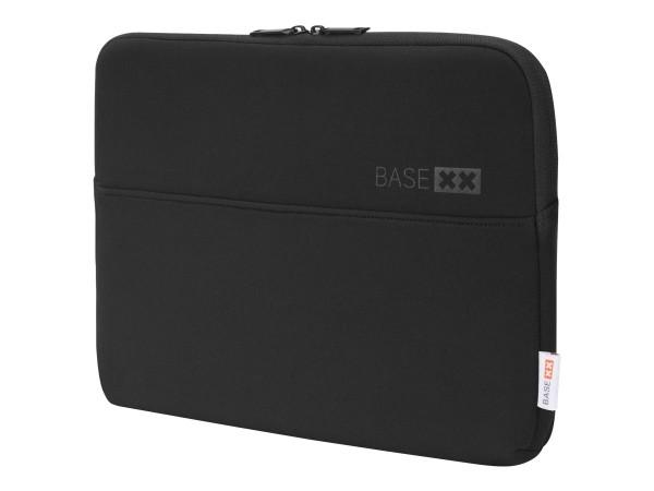 DICOTA BASE XX Laptop Sleeve 13.3 - Notebook-Hülle - 33.8 cm (13.3) - Schwarz