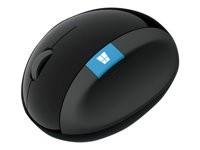 Microsoft Sculpt Ergonomic Mouse - Maus - 7 Tasten - drahtlos - 2.4 GHz - kabelloser Empfänger (USB)
