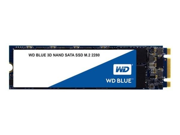 WD Blue 3D NAND SATA SSD WDS100T2B0B - Solid-State-Disk - 1 TB - intern - M.2 2280 - SATA 6Gb/s