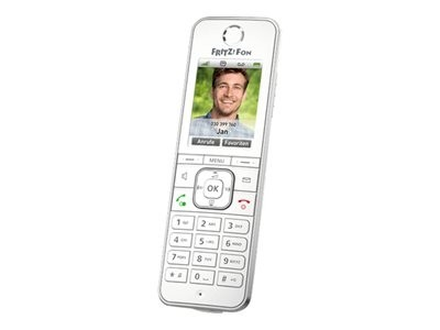 AVM FRITZ!Fon C6 - Schnurloses VoIP-Telefon - mit Internetradio mit Rufnummernanzeige - ECO DECT\GAP