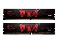 G.Skill AEGIS - DDR4 - 16 GB: 2 x 8 GB - DIMM 288-PIN - 3200 MHz / PC4-25600 - CL16 - 1.35 V - ungep
