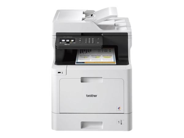 Brother MFC-L8690CDW - Multifunktionsdrucker - Farbe - Laser - A4/Legal (Medien) - bis zu 31 Seiten/